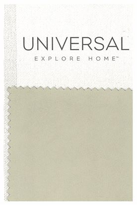 Picture of Hudson Ivory Leather Fabric Swatch